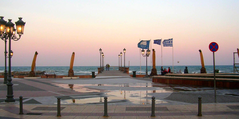 Paralia Olimpska regija Grčka