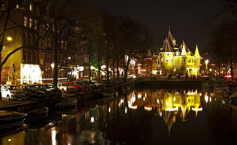 Amsterdam, Nova godina Amsterdam