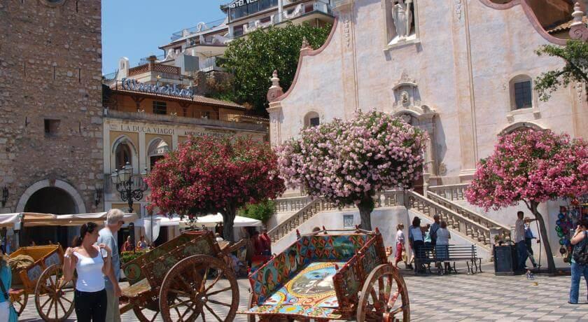 Hotel VELLO D'ORO Taormina 3*