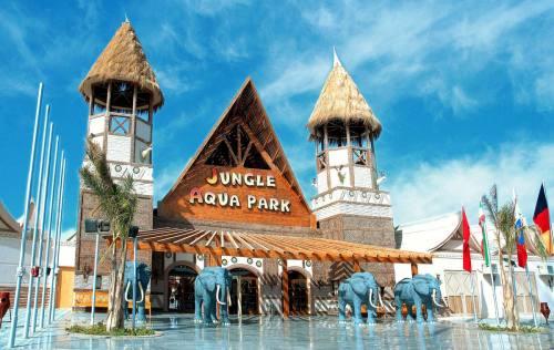 Hotel JUNGLE AQUA PARK Hurgada