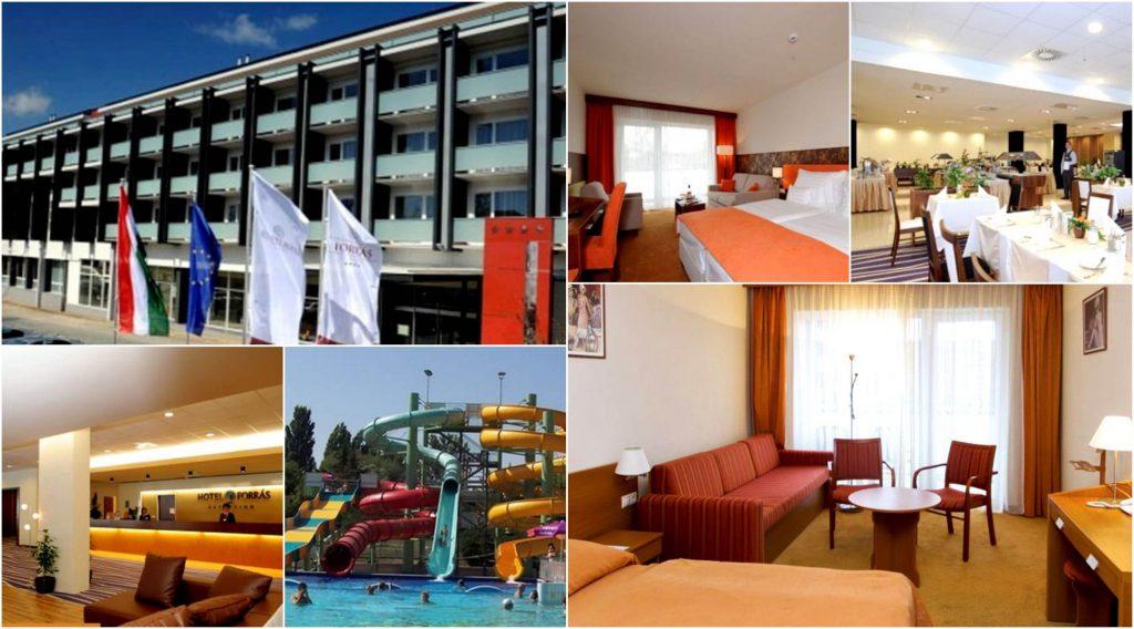 Hotel FORRAS Aquapolis Segedin