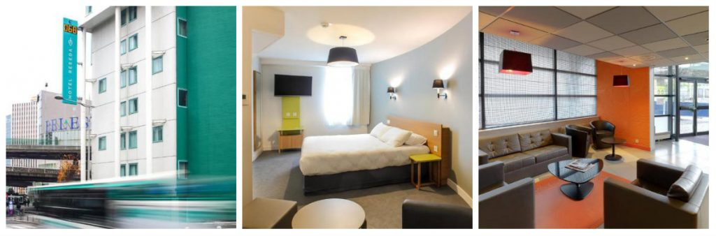 hotel Reseda Bagnolet Pariz