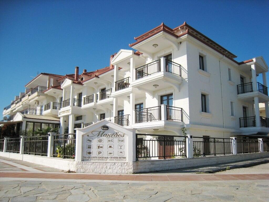 Hotel MAKEDOS Nea Vrasna