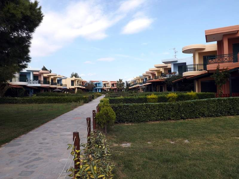 Vila BLUE ORANGE APARTMENTS Nikiti