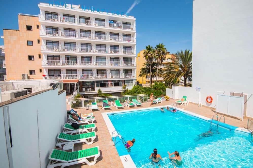 Hotel AMIC MIRAFLORES Can Pastilla Majorka 3*