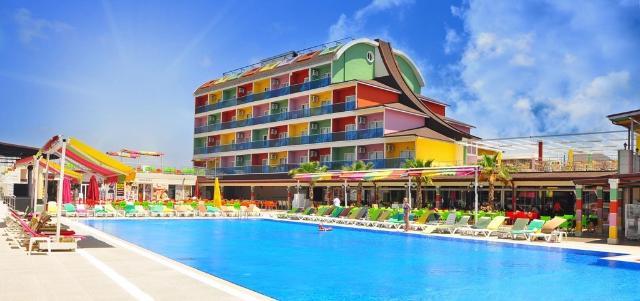 Hotel BLUE PARADISE Side 4*