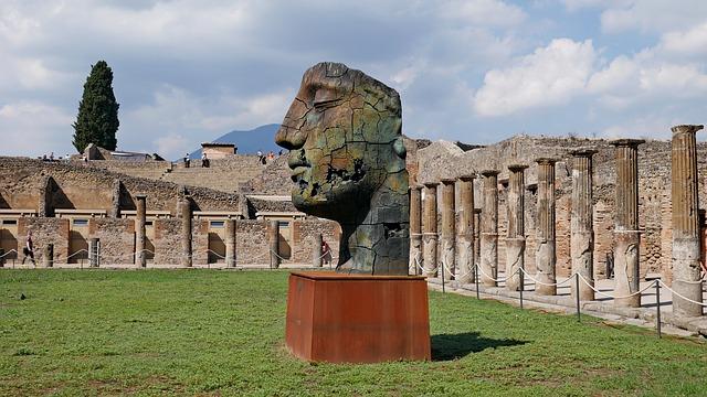 Pompeja Juzna Italija