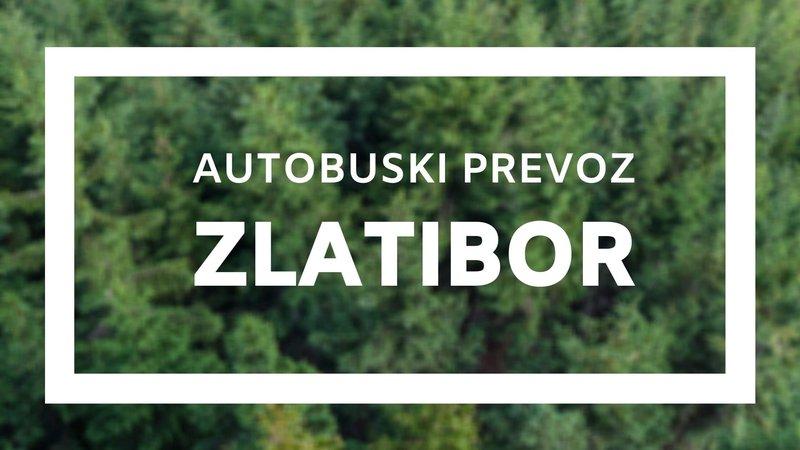 Autobuska linija Novi Sad - Zlatibor, autobuski prevoz Zlatibor